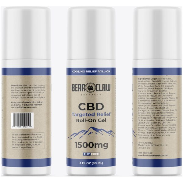 1500mg CBD Targeted Relief Roll-on